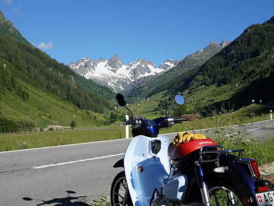 Schnüf Schnüf machte das Alpenbrevet mit 491km